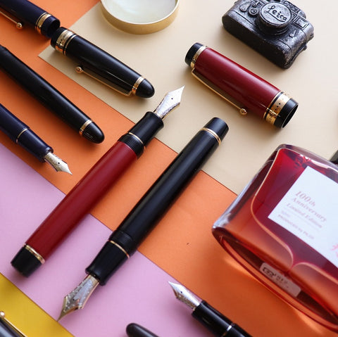 All Pilot Fountain Pens