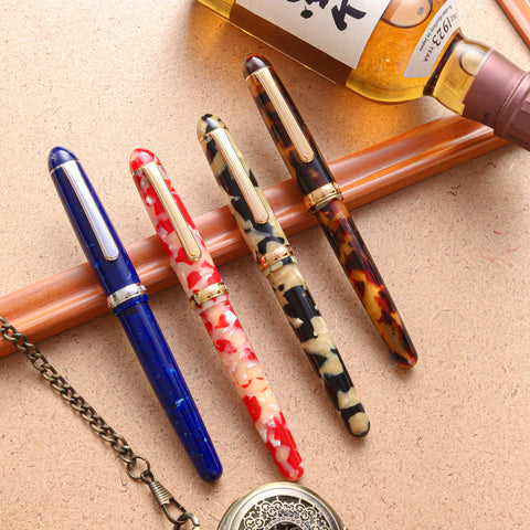 Platinum Celluloid Fountain Pens
