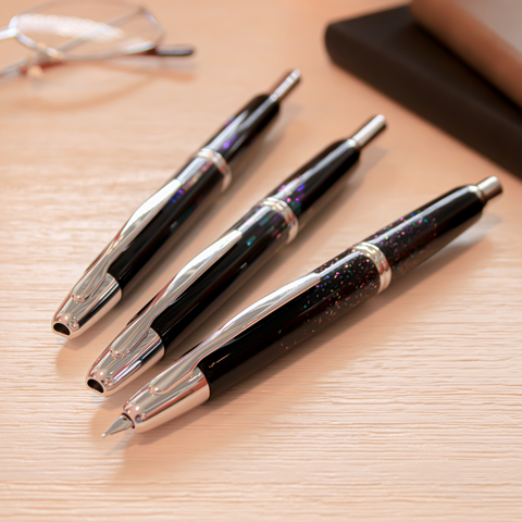 Pilot Vanishing Point Raden Fountain Pens