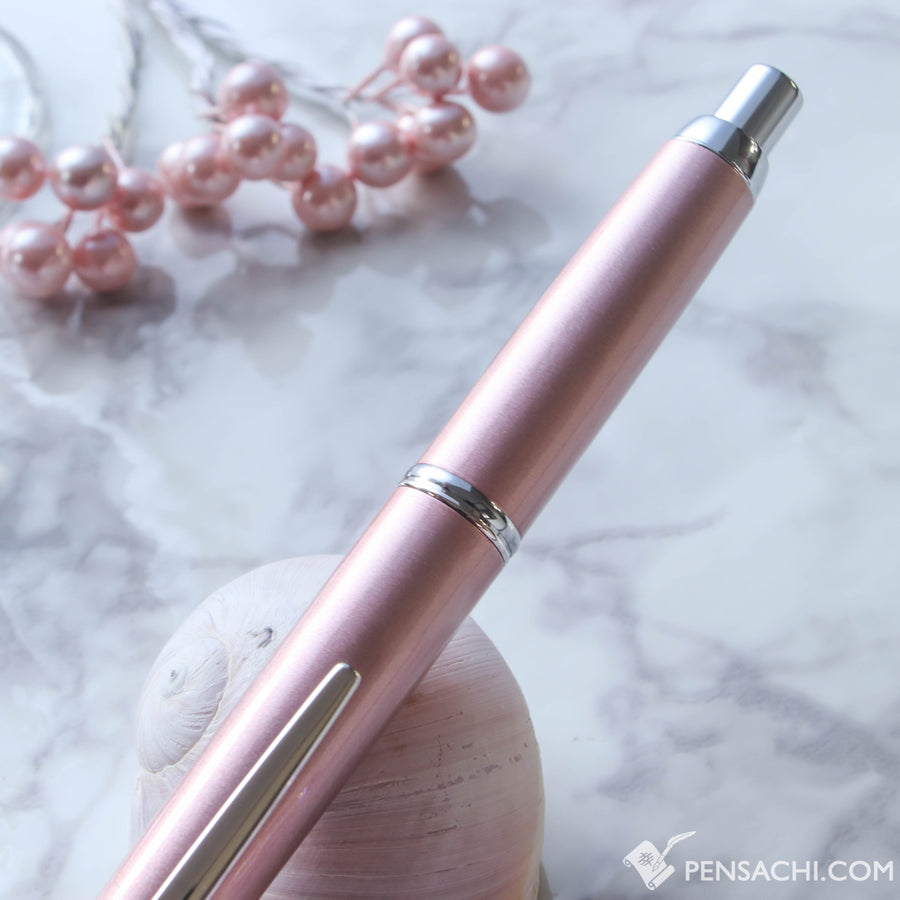 PILOT Vanishing Point Capless Decimo Fountain Pen - Champagne Pink - PenSachi Japanese Limited Fountain Pen
