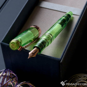 SAILOR LE Progear Classic Realo Demonstrator - Sparkling Highlight Green - PenSachi Japanese Limited Fountain Pen