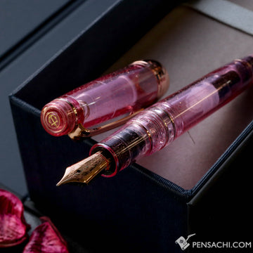 SAILOR LE Pro Gear Classic Realo Demonstrator Fountain Pen - Sparkling Pink - PenSachi Japanese Limited Fountain Pen