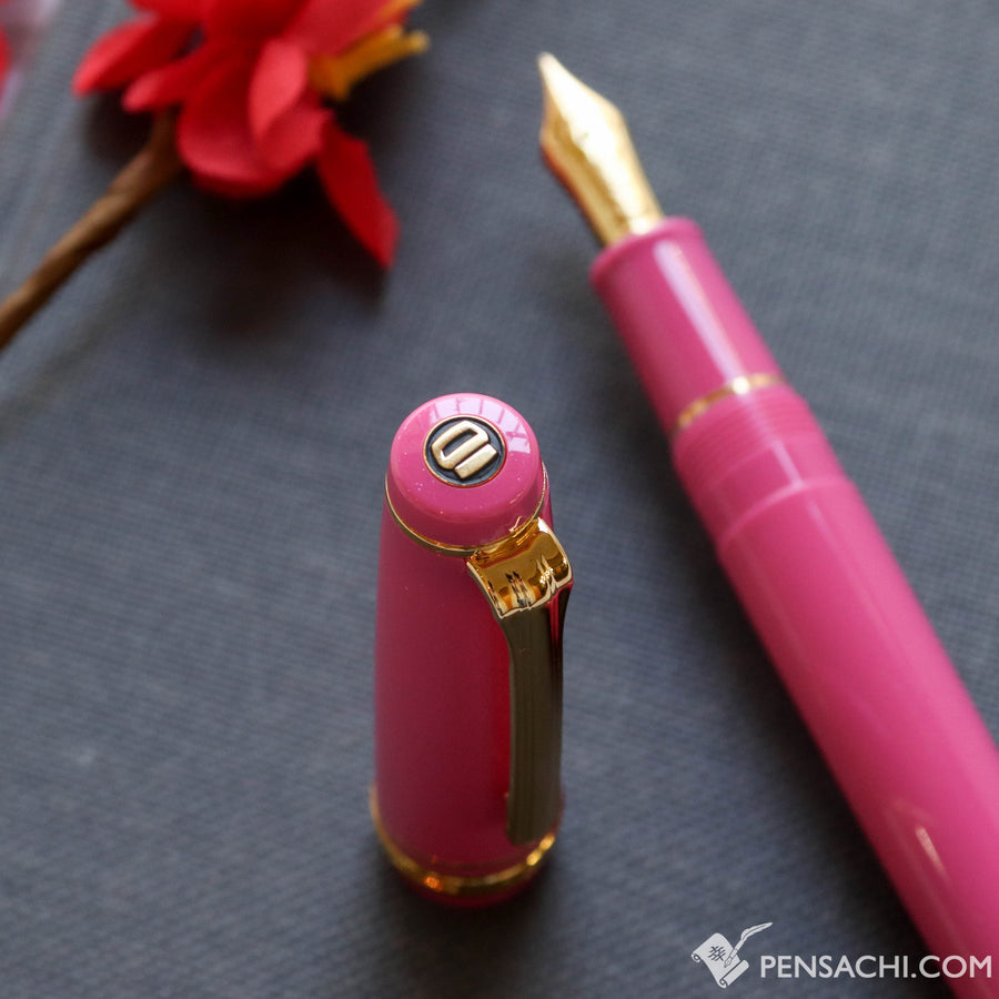 SAILOR Limited Edition Pro Gear Slim (Sapporo) Fountain Pen - Pink - PenSachi Japanese Limited Fountain Pen