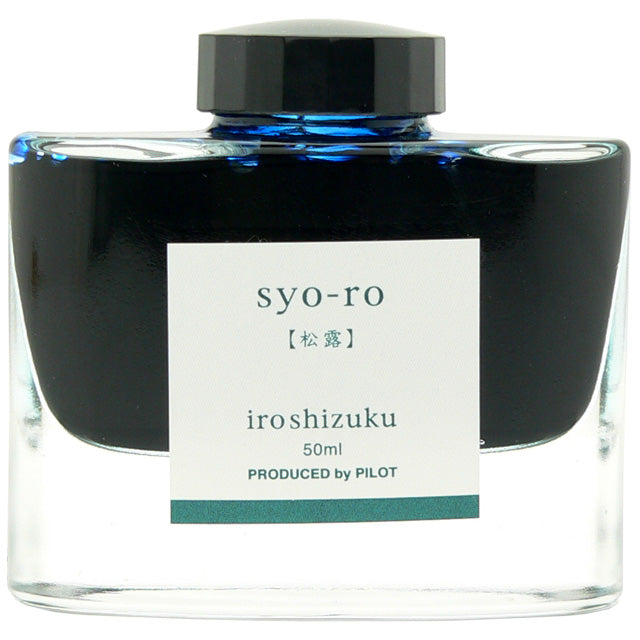 Pilot Iroshizuku Ink 50 ml - PenSachi Japanese Limited Fountain Pen