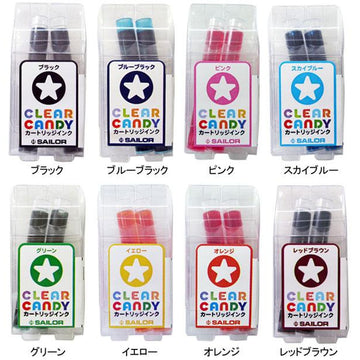 Sailor Clear Candy Ink Cartridge
