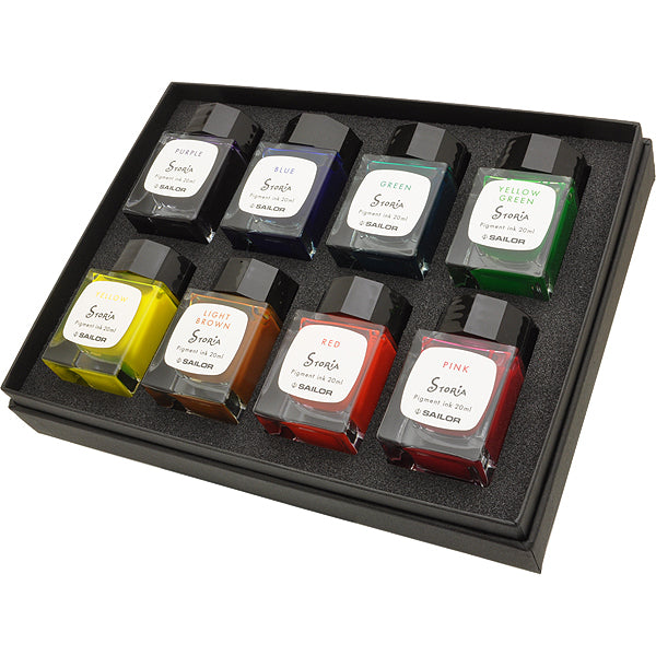 Sailor Storia Ink Set of 8