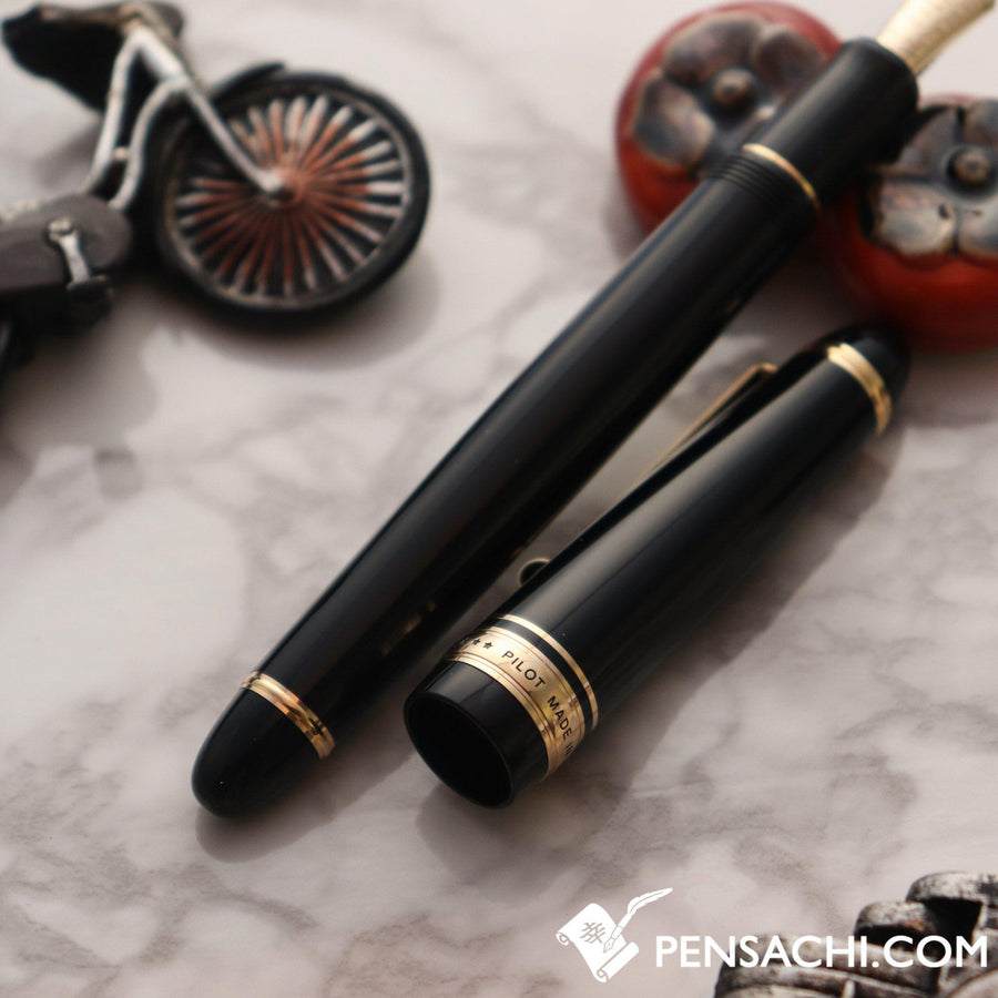 PILOT Custom 743 Fountain Pen - Black - PenSachi Japanese Limited Fountain Pen
