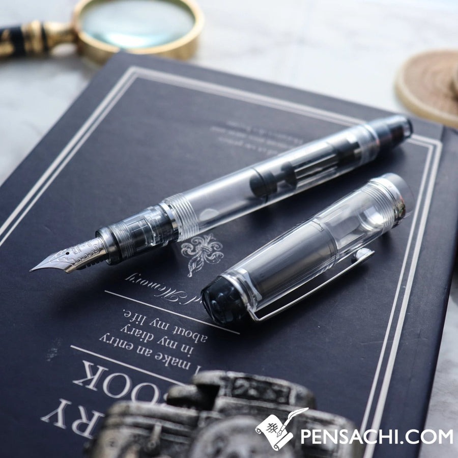 PILOT Custom Heritage 92 Fountain Pen - Demonstrator Clear - PenSachi Japanese Limited Fountain Pen