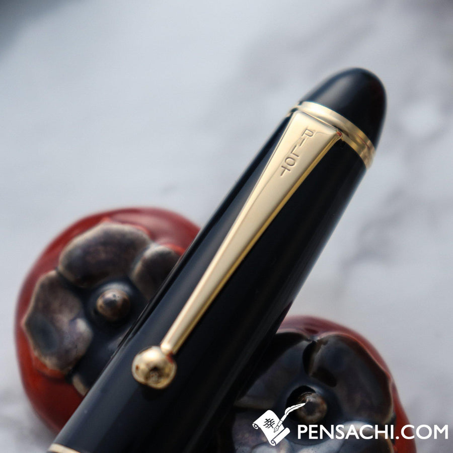 PILOT Custom 823 Fountain Pen - Smoke Black Demonstrator - PenSachi Japanese Limited Fountain Pen