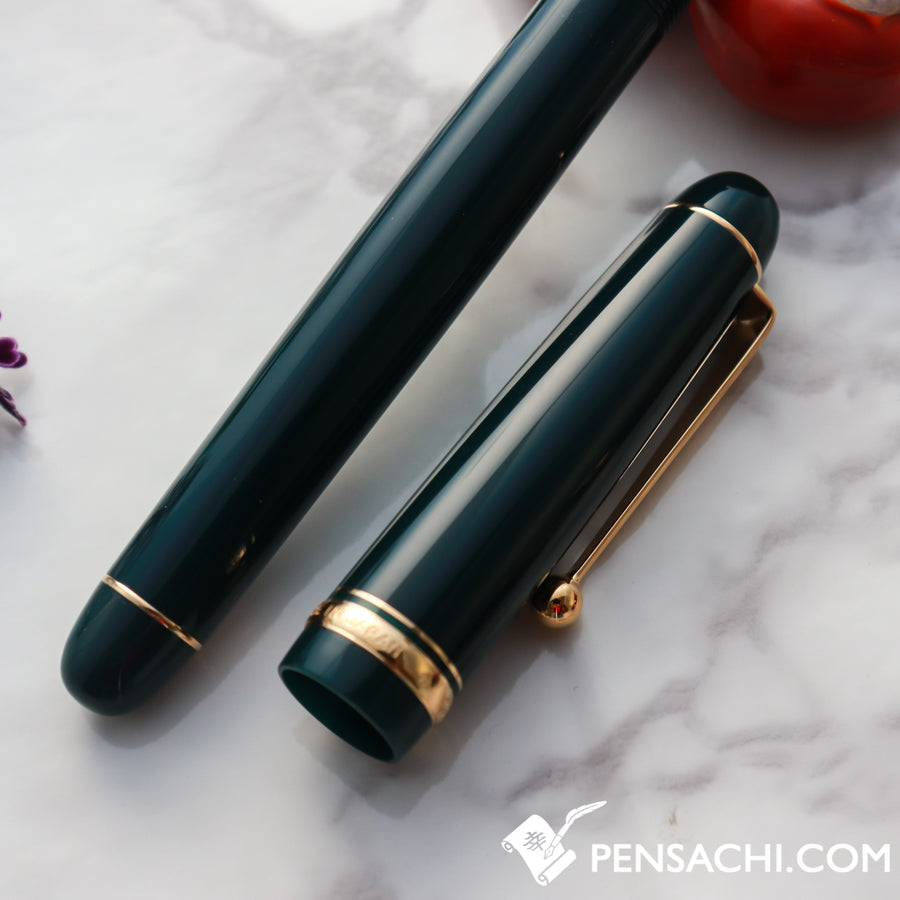 PILOT Custom 74 Fountain Pen - Dark Green - PenSachi Japanese Limited Fountain Pen