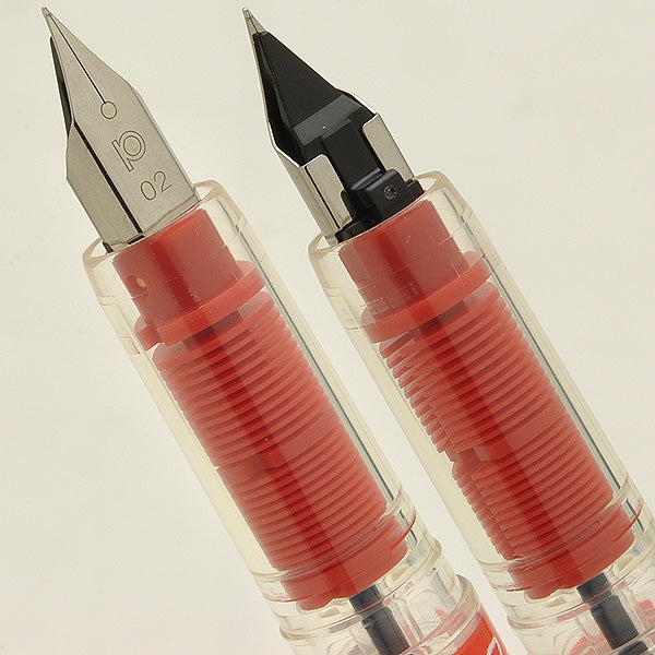 PLATINUM Preppy Fountain Pen - Red - PenSachi Japanese Limited Fountain Pen