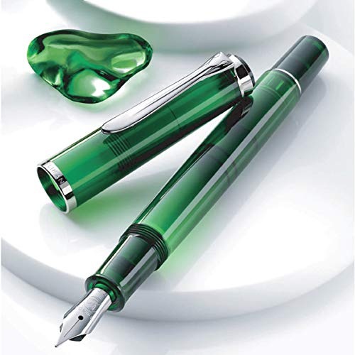 PELIKAN Special Edition Classic M205 Fountain Pen - Olivien - PenSachi Japanese Limited Fountain Pen
