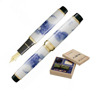 SAILOR The Arita Gold Trim 21K Gold Nib Fountain Pen - Somesansui