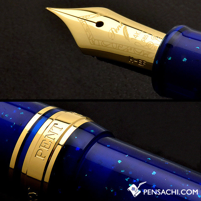 SAILOR LE Profit Standard Demonstrator Fountain Pen - Midnight Star Blue - PenSachi Japanese Limited Fountain Pen