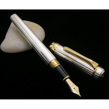 PLATINUM Sterling Silver Fountain Pen - Silver - PenSachi Japanese Limited Fountain Pen