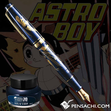 Limited Edition SAILOR Pro Gear Slim Astro Boy Fountain Pen - PenSachi Japanese Limited Fountain Pen