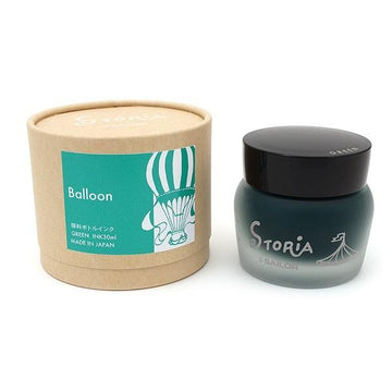 SAILOR Storia Ink - Ballon Green - 30 ml - PenSachi Japanese Limited Fountain Pen