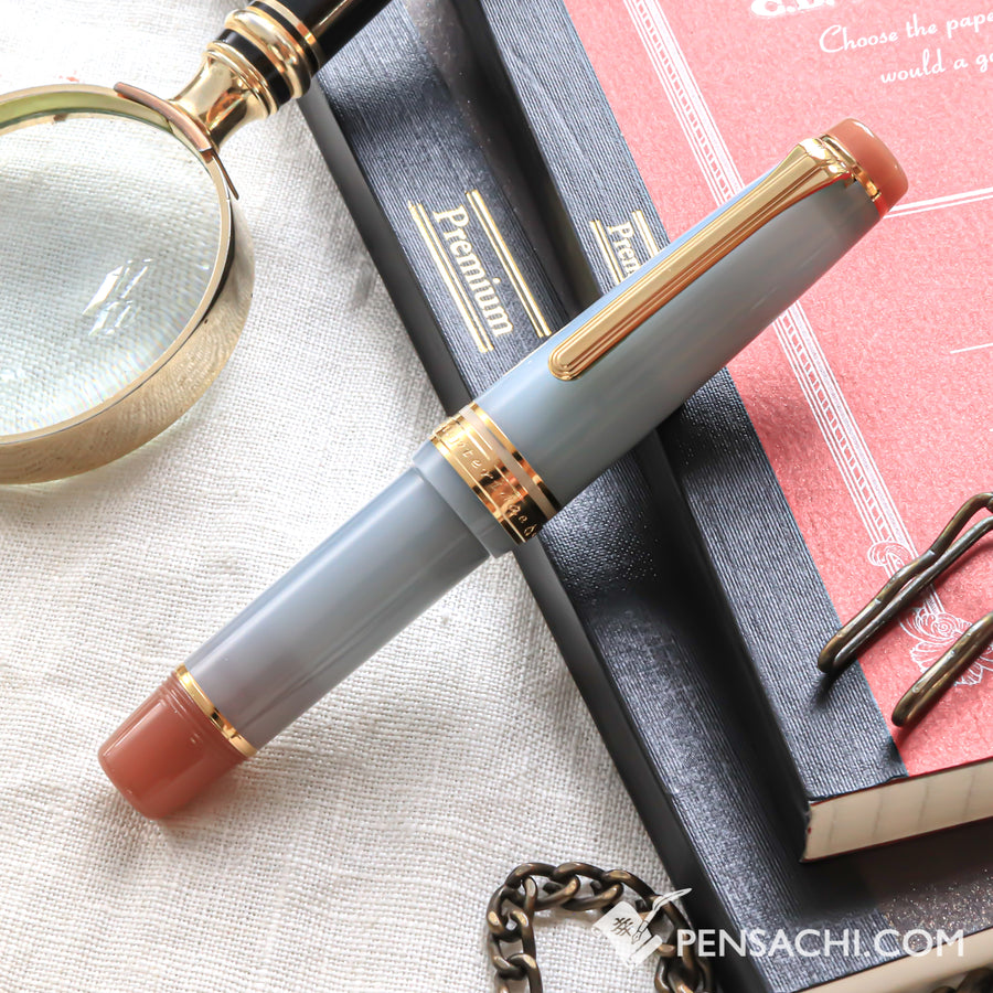 SAILOR Limited Edition Professional Gear Mini Fountain Pen -  Hoteiwo - PenSachi Japanese Limited Fountain Pen