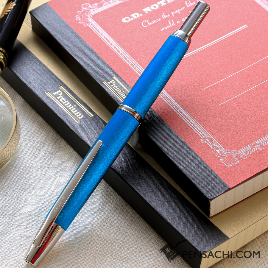 PILOT Limited Edition Vanishing Point Capless Decimo Fountain Pen - Light Blue - PenSachi Japanese Limited Fountain Pen