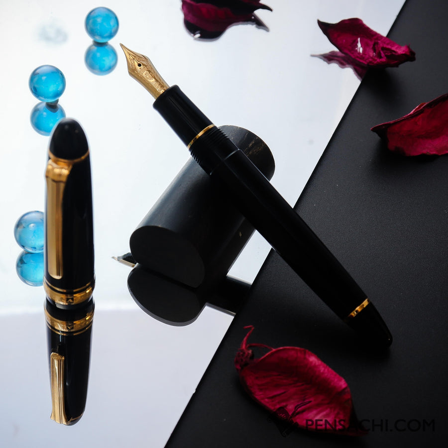 SAILOR 1911 Standard 21 (Mid size) Naginata Togi Old Design Fountain Pen - Black - PenSachi Japanese Limited Fountain Pen
