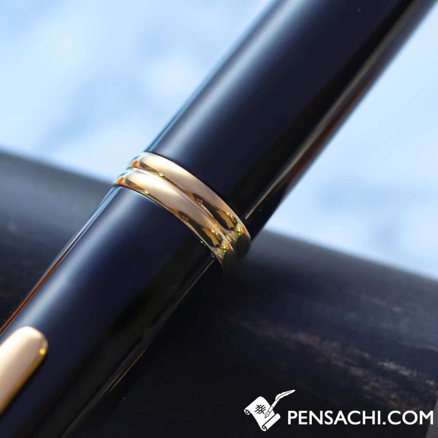 PILOT Vanishing Point Capless Gold Fountain Pen - Black - PenSachi Japanese Limited Fountain Pen