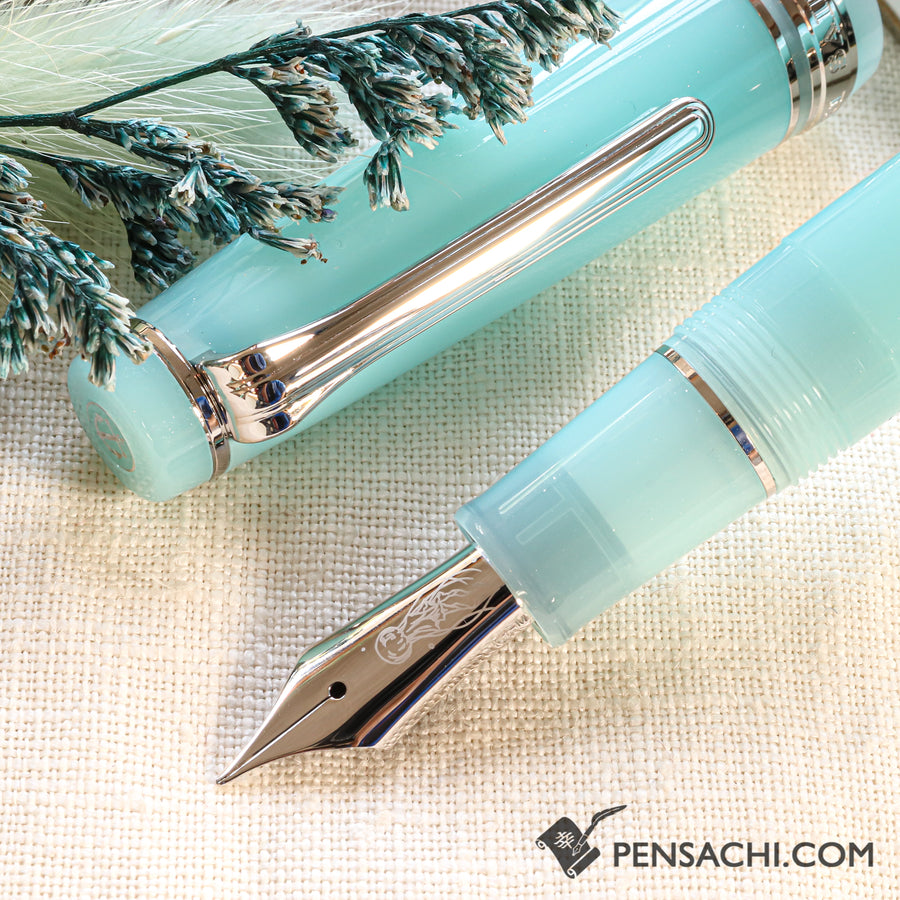 SAILOR Limited Edition Pro Gear Fountain Pen - Jellyfish Aquarium - PenSachi Japanese Limited Fountain Pen