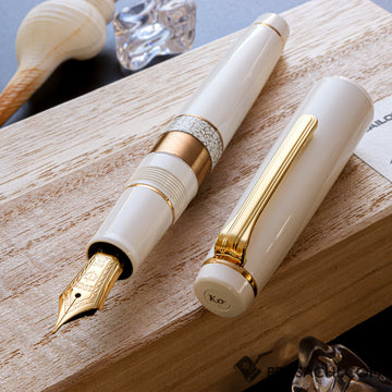 SAILOR Pro Gear Classic Ko Makie Fountain Pen - Mist - PenSachi Japanese Limited Fountain Pen