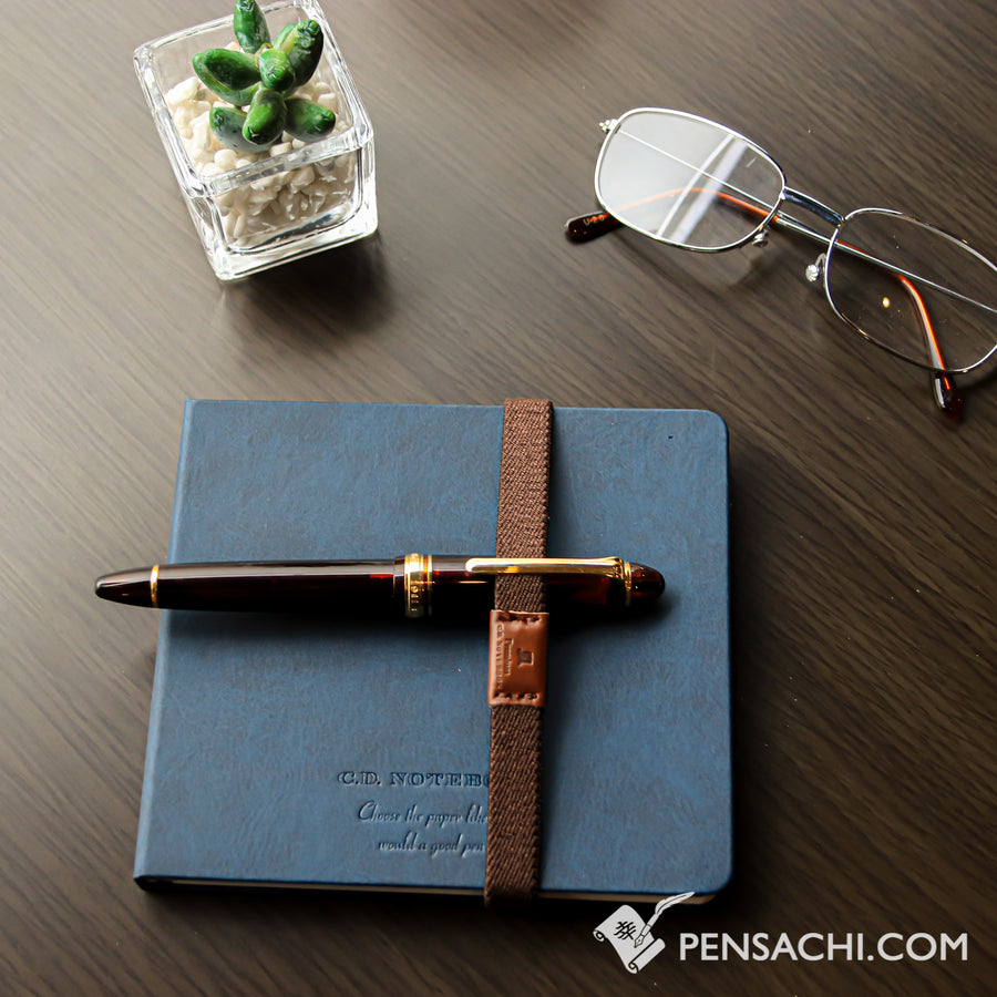 Premium C.D. Notebook Blue - Ruled - PenSachi Japanese Limited Fountain Pen