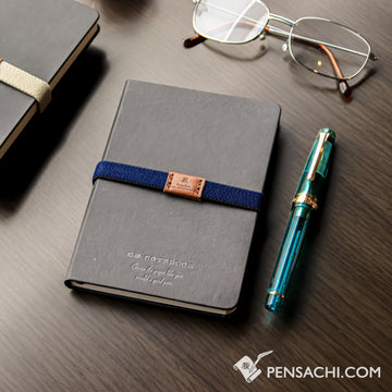 Premium C.D. Notebook A6 Black - Ruled - PenSachi Japanese Limited Fountain Pen