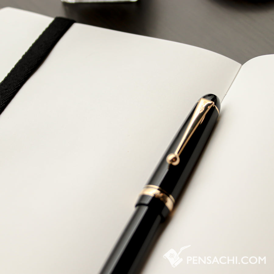 Premium C.D. Notebook A5 Light Brown -  Blank - PenSachi Japanese Limited Fountain Pen