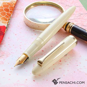 SAILOR 1911 Profit Junior Fountain Pen - Ivory White - PenSachi Japanese Limited Fountain Pen