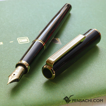 SAILOR Young Profit Fountain Pen - Black Gold - PenSachi Japanese Limited Fountain Pen