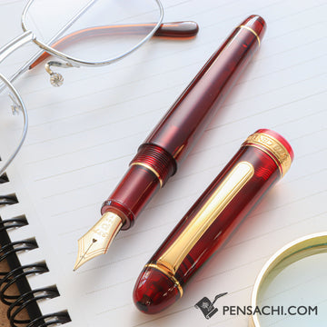 PLATINUM #3776 Century Fountain Pen - Bourgogne - PenSachi Japanese Limited Fountain Pen