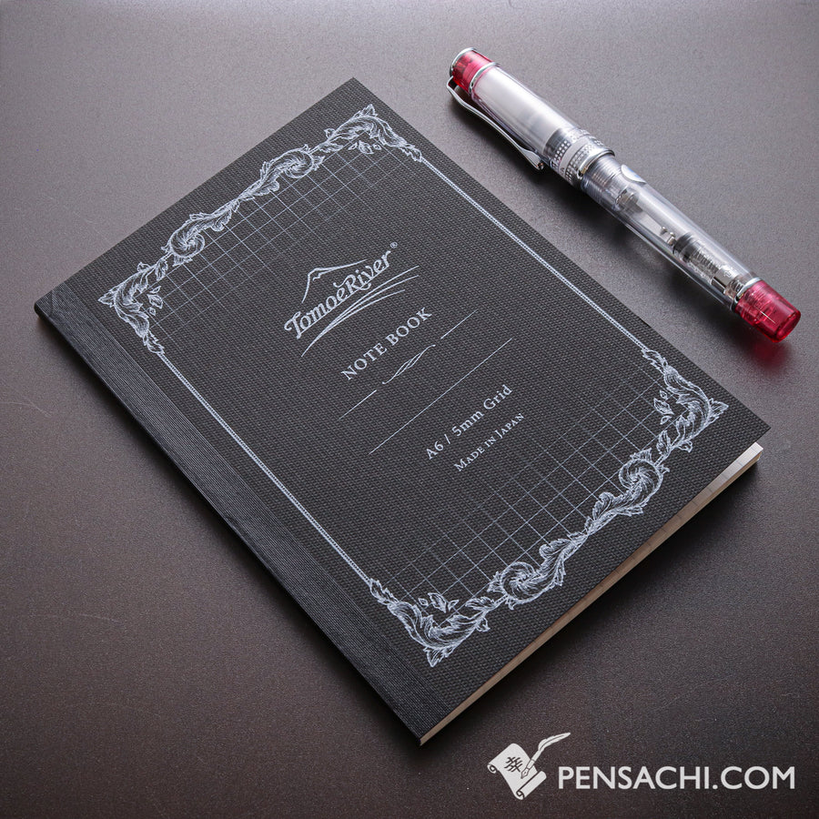 Tomoe River FP A6 Notebook (160 pages) - 5mm Grid - PenSachi Japanese Limited Fountain Pen