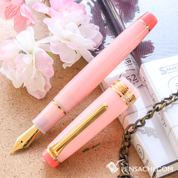 SAILOR Limited Edition Pro Gear Classic Fountain Pen - Sakura Hime - PenSachi Japanese Limited Fountain Pen
