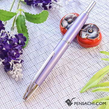 PILOT Vanishing Point Capless Decimo Fountain Pen - Violet - PenSachi Japanese Limited Fountain Pen