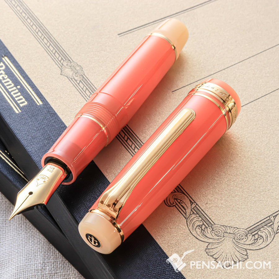 SAILOR Limited Edition Professional Gear Mini Fountain Pen -  Hige Dango - PenSachi Japanese Limited Fountain Pen