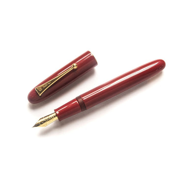 Namiki Urushi Lacquer Vermilion No.20 18kt Gold nib Fountain Pen - PenSachi Japanese Limited Fountain Pen