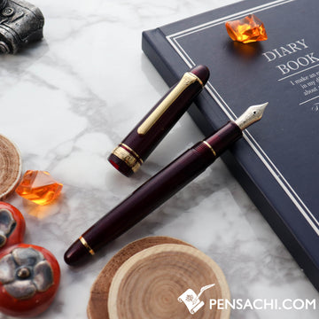 SAILOR Promenade Fountain Pen - Sparkling Red Gold - PenSachi Japanese Limited Fountain Pen