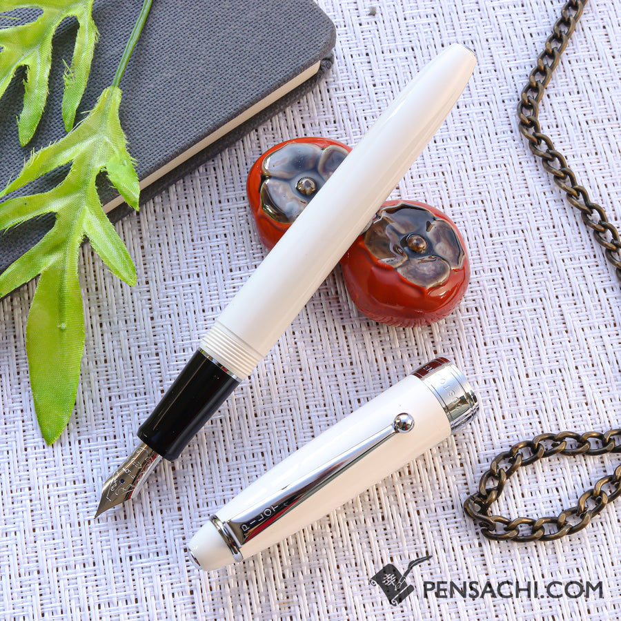 PILOT Custom NS Fountain Pen - Ivory - PenSachi Japanese Limited Fountain Pen