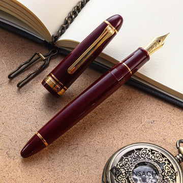 SAILOR 1911 Large (Full size) Fountain Pen - Maroon - PenSachi Japanese Limited Fountain Pen