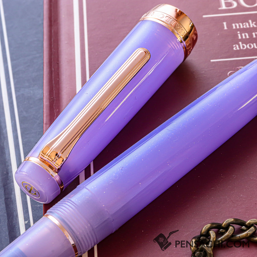 SAILOR Limited Edition Pro Gear Fountain Pen - Amethyst Ice - PenSachi Japanese Limited Fountain Pen
