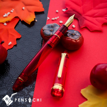 SAILOR Limited Edition 1911 Profit Mid-size Demonstrator Fountain Pen - Radiant Orange Fountain Pen- PenSachi Japanese Limited Fountain Pen