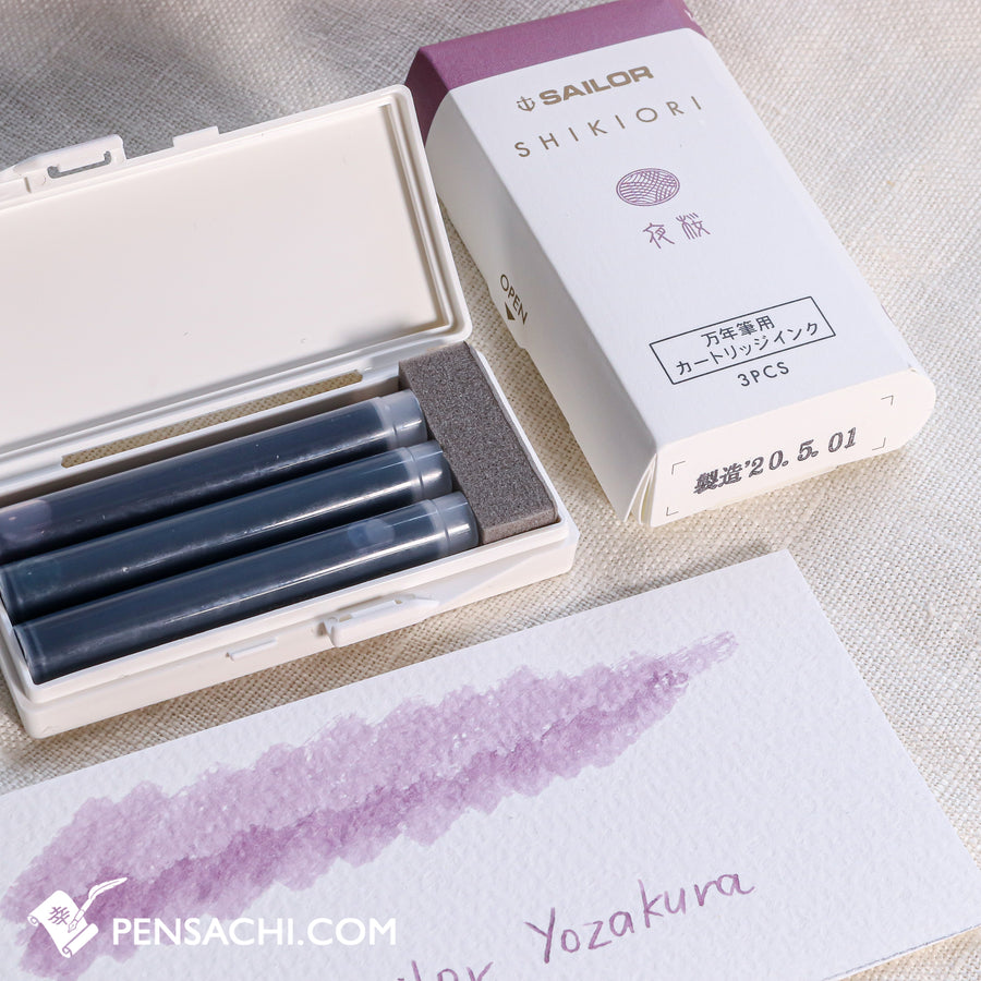 Sailor Shikiori Ink Cartridges 5 Colors Set - Spring - PenSachi Japanese Limited Fountain Pen