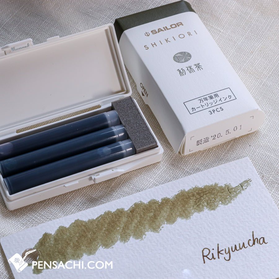 Sailor Shikiori Ink Cartridges 5 Colors Set - Summer - PenSachi Japanese Limited Fountain Pen