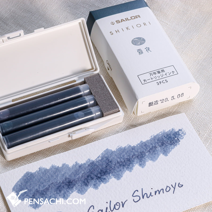Sailor Shikiori Ink Cartridges 5 Colors Set - Winter - PenSachi Japanese Limited Fountain Pen