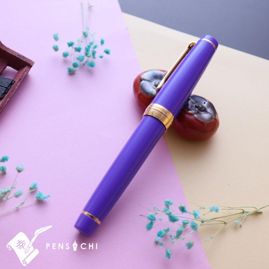 SAILOR Limited Edition Pro Gear Classic Fountain Pen - Purple - PenSachi Japanese Limited Fountain Pen