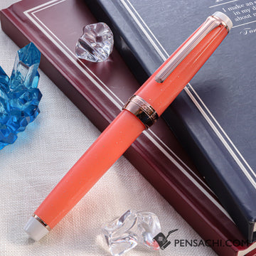 SAILOR Limited Edition Pro Gear Slim (Sapporo) Fountain Pen - Sango - PenSachi Japanese Limited Fountain Pen