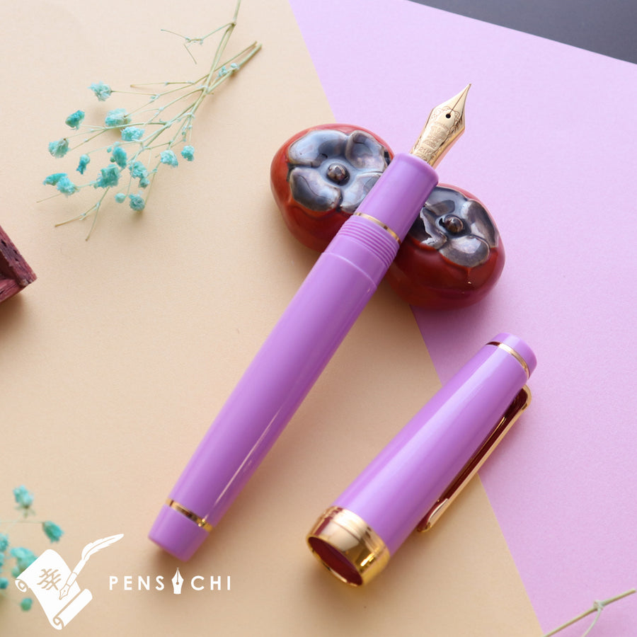 SAILOR Limited Edition Pro Gear Classic Fountain Pen - Pink Purple - PenSachi Japanese Limited Fountain Pen