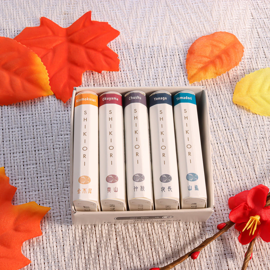 Sailor Shikiori Ink Cartridges 20 Colors Set - PenSachi Japanese Limited Fountain Pen
